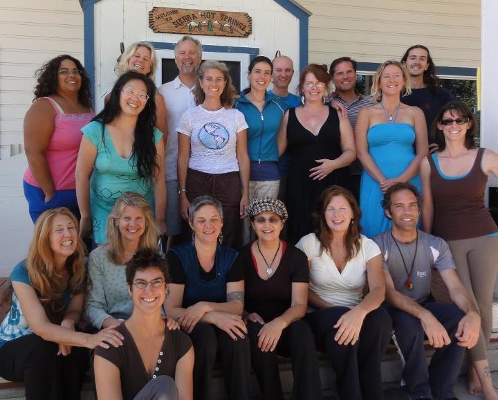 Sierra Hot Springs Group 2012  QiGong & Meditation Retreat